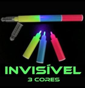 Marcador Invisível UV (3 Cores)