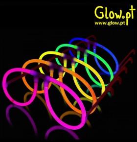 Óculos Glow Aviador (Pack 6)