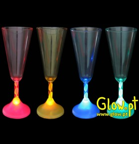 Copo Champagne LED