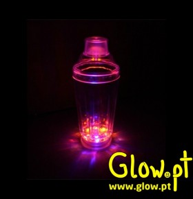 Cocktail Shaker com Leds