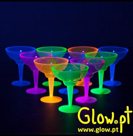 Copo Margarita Fluorescente (pack 12)