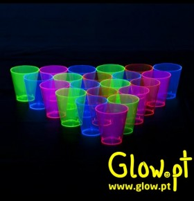 Copo Shot Fluorescente (pack 60)