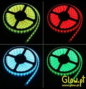 Fita de LEDs RGB c/ Comando