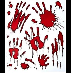 Stickers Mãos Sangue