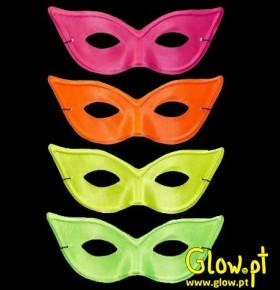 Máscara Mulher Fluorescente