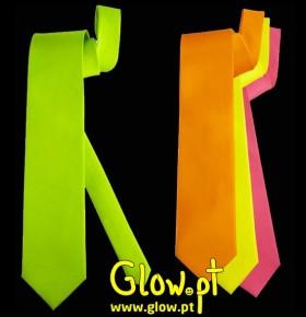 Gravata Fluorescente