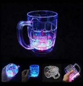 Caneca Cerveja LED