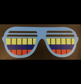 Placa LED Shutter Shades