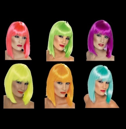 Peruca Glam Neon