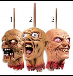 Cabeça de Zombie ( 15cm )