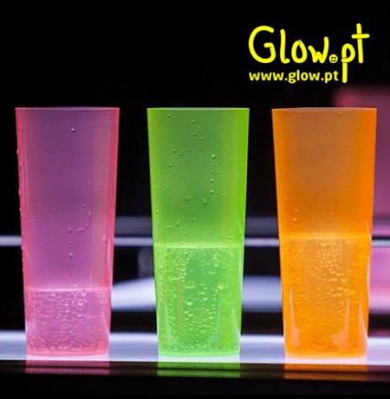 Copo Tubo Fluorescente 22cl Pack 25