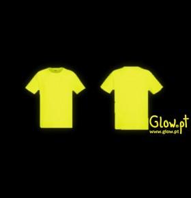 T-Shirt Técnica ( Amarelo Fluorescente )