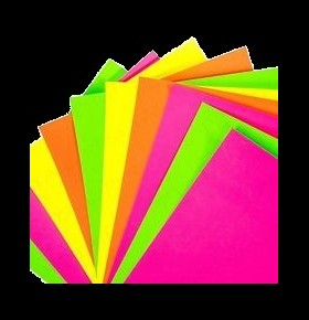 Cartolina Fluorescente A4 ( 20 folhas )