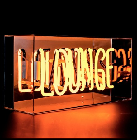 Caixa Acrílica Neon Lounge