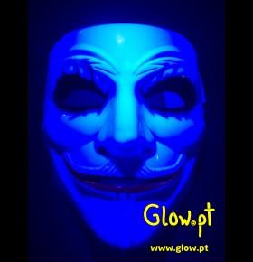 Máscara Joker Fluorescente