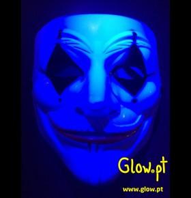 Máscara Joker Fluorescente II