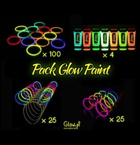 Pack Glow Paint
