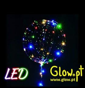 Balão Bubble com Fita de LED's