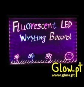 Quadro p/ Escrever LED Fluorescente