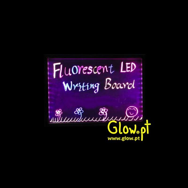 89123113aac98 Quadro p  Escrever LED Fluorescente - Glow.pt