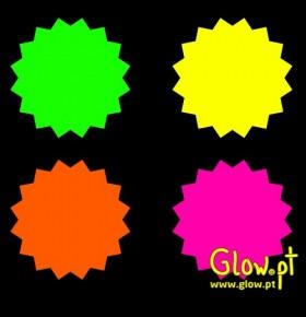 Estrelas Fluorescentes ( Pack 12 )