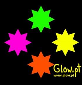 Estrelas Fluorescentes ( Pack 30 )