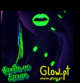Kit Verniz & Batom Glow in the Dark