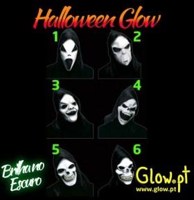Máscara Halloween Glow