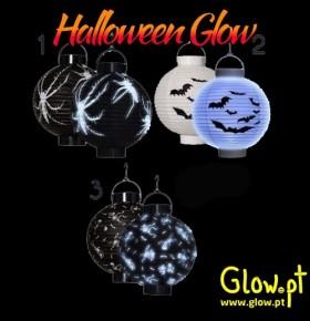 Lanterna Halloween c/ LED (20cm)