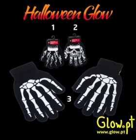 Luvas Halloween