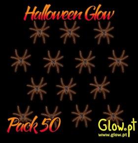 Aranhas Pequenas (Pack 50)