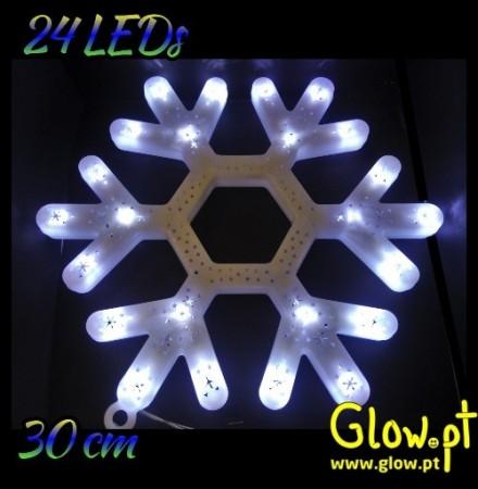 Floco de Neve LED (30cm)