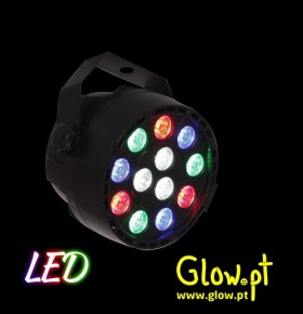 Projector PAR LED RGB
