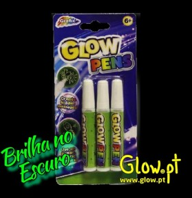 Caneta de Gel Glow in the Dark