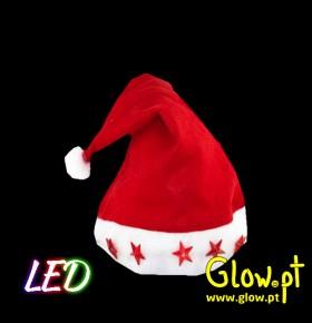 Gorro Pai Natal LED