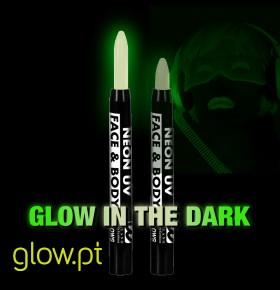 Lápis BodyPaint Glow in the Dark