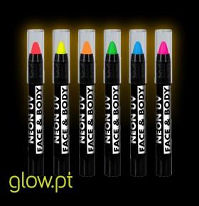 Lápis BodyPaint UV Pack 6