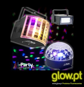 Conjunto Party Pack ( 3 Luzes )