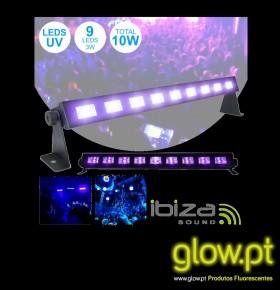 Barra LED UV ( 9 LED's)
