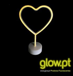 Coração LED ( 29cm )