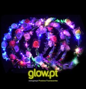 Coroa de Flores LED Deluxe
