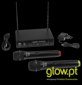 Microfones Wireless VHF-102