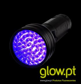 Mega Lanterna LED Luz Negra