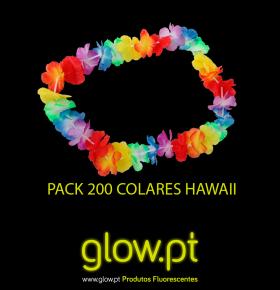Pack 200 Colares Hawaii Premium