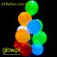 Balões LED (20 unid.) Luz FIxa