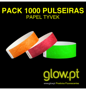 Pack 1000 Pulseiras Invioláveis Papel