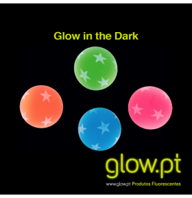 Bolas Glow in the Dark ( Pack 6 )