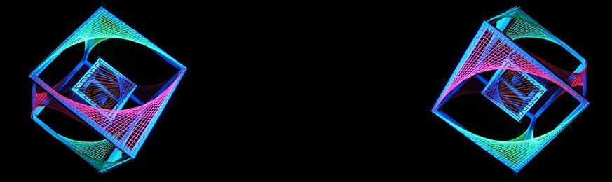 Decoração e Materiais Fluorescentes