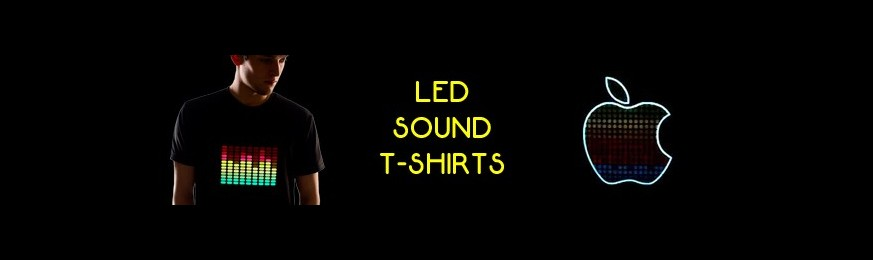 LED Sound T-shirts / Cap